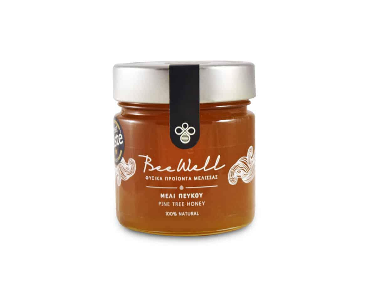 BeeWell Organic Pine Honey