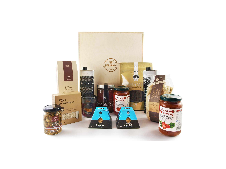 Complete food basket hellenic food basket for Cuisines completes