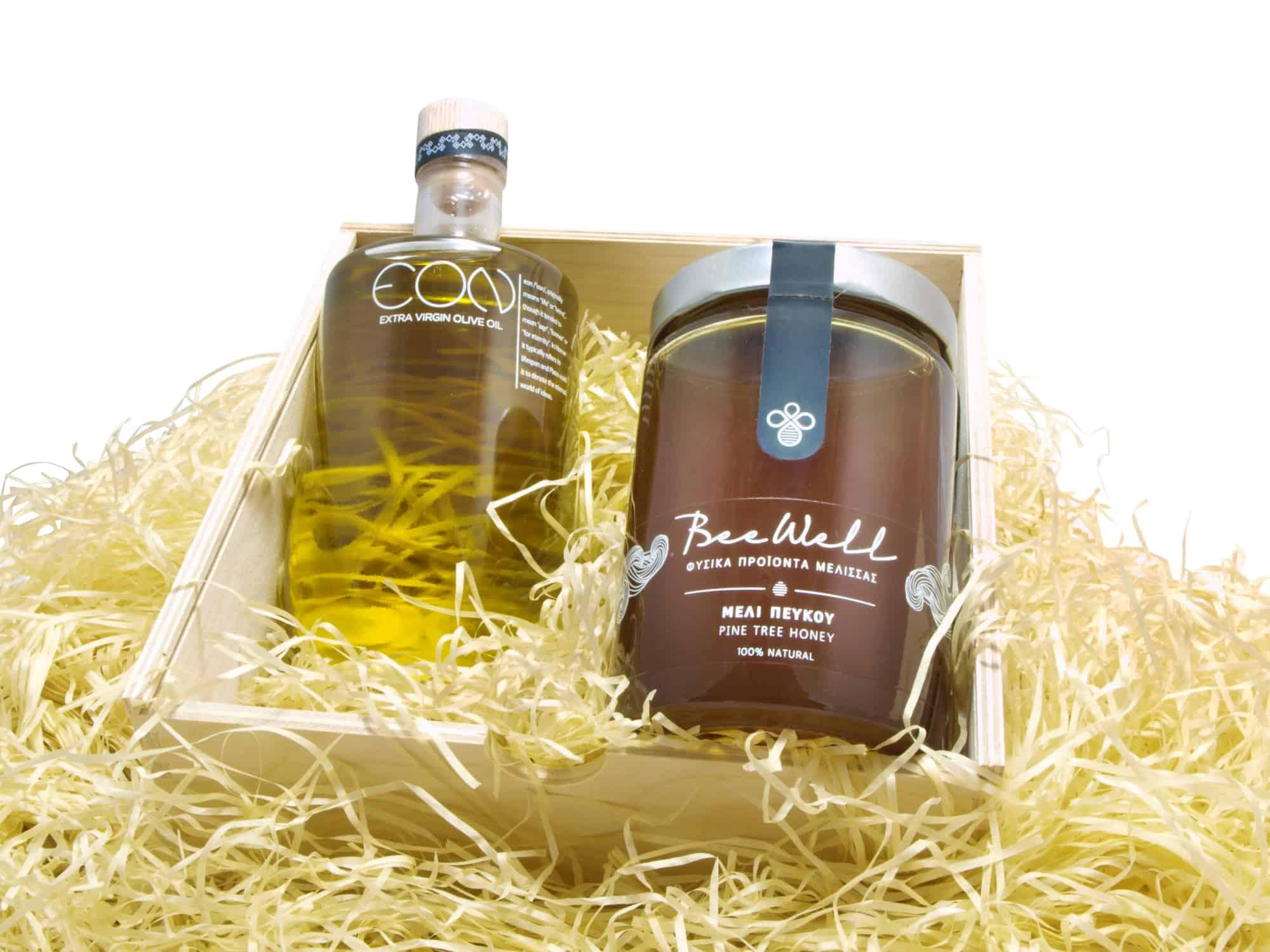 Honey & Extra Virgin Olive Oil