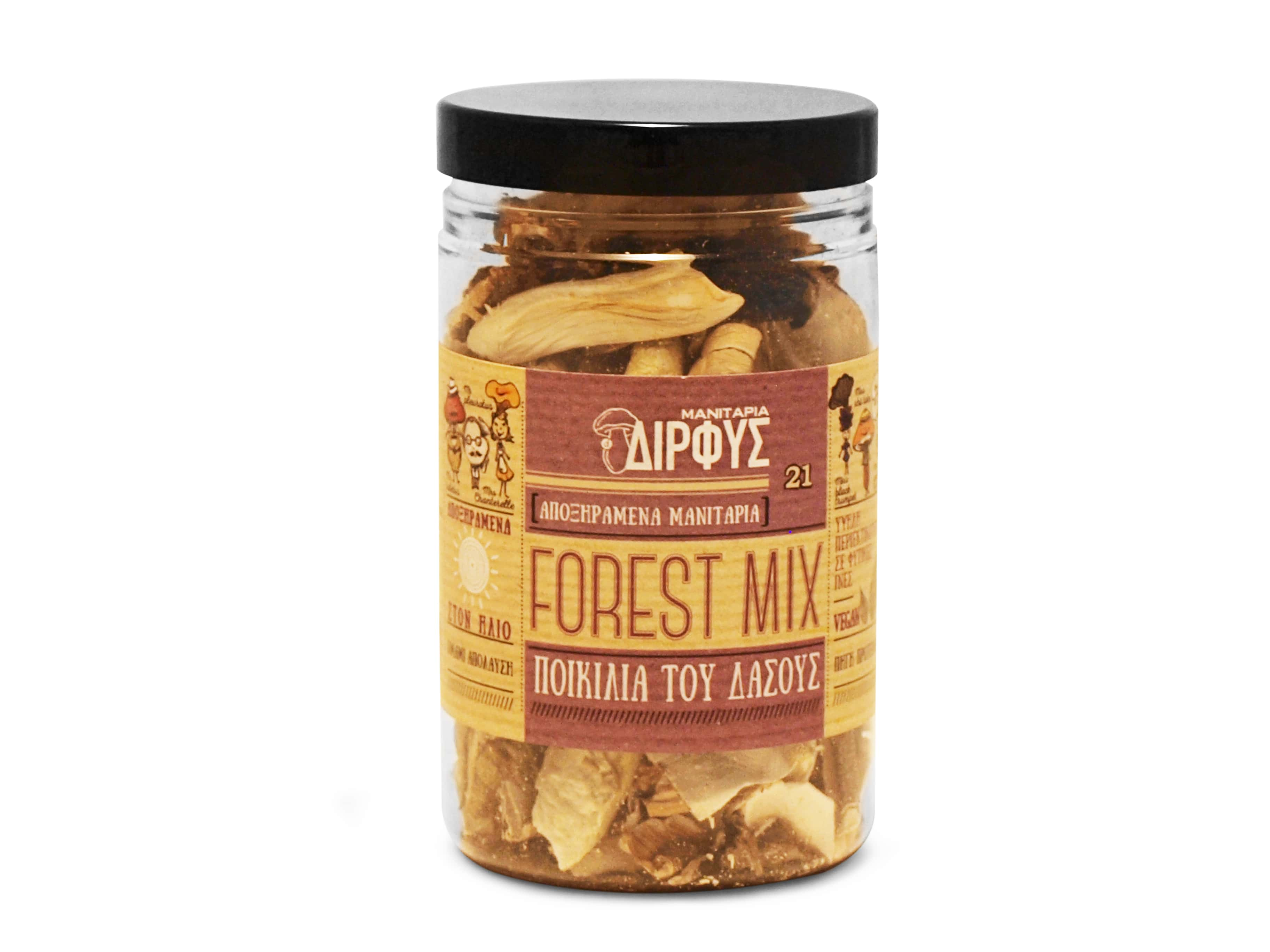 Dried Forest Mix Mushrooms