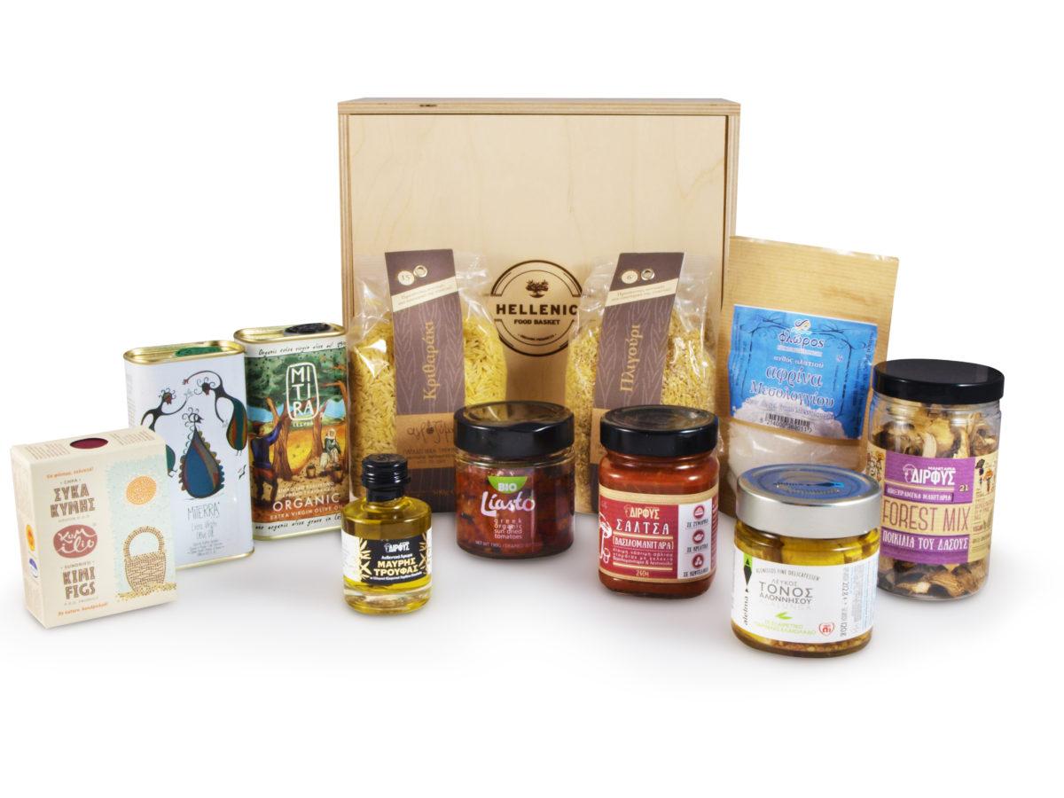 Greek products basket
