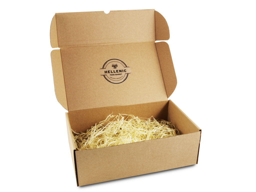 Chipboard Box | Hellenic Food Basket