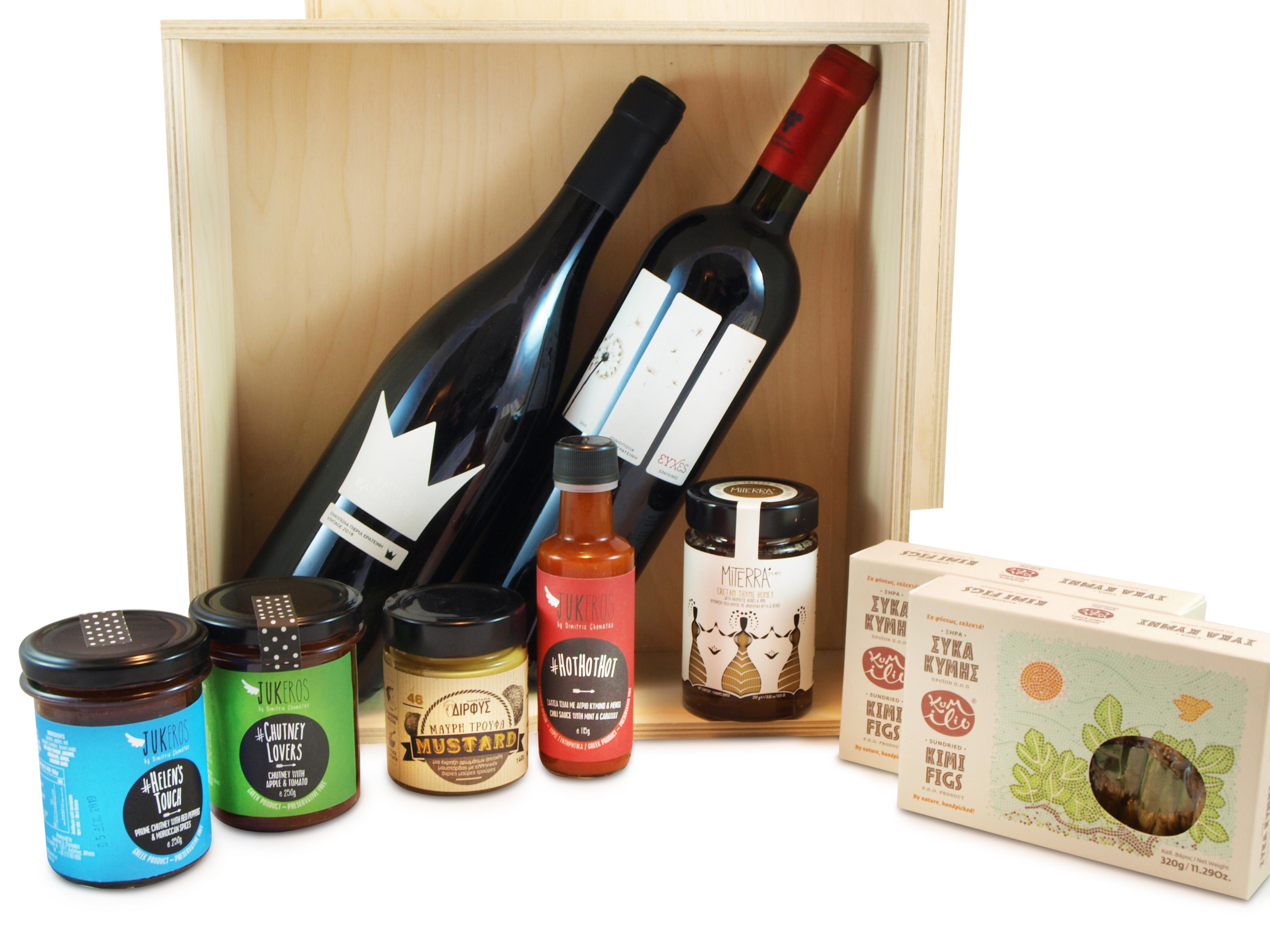 Greek Wine Basket1