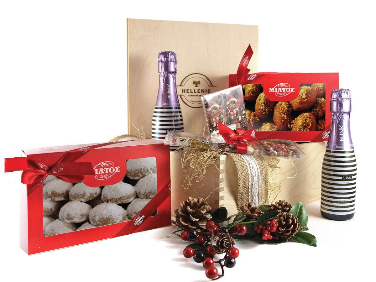 Bubbly Dreams - Christmas basket