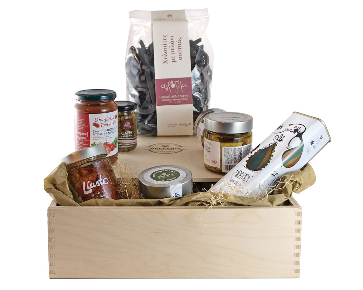Organic Tea Basket #2
