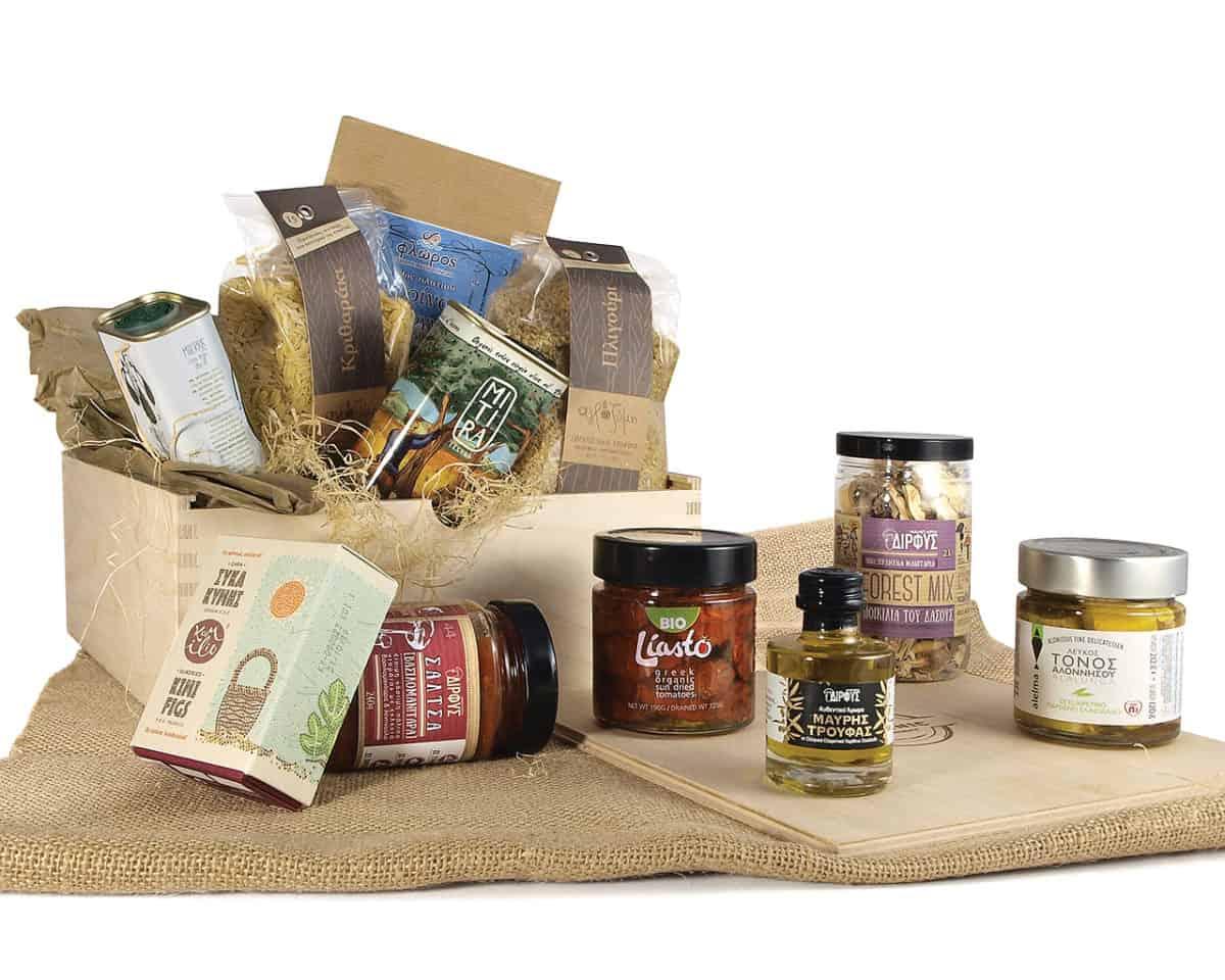 Greek products basket1