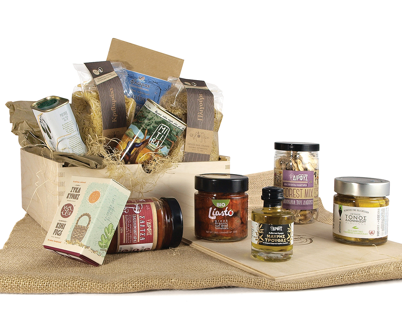Greek products basket1