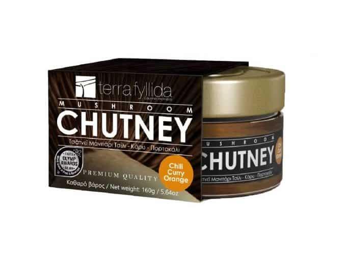 Τerrafyllida chutney μανιταριού