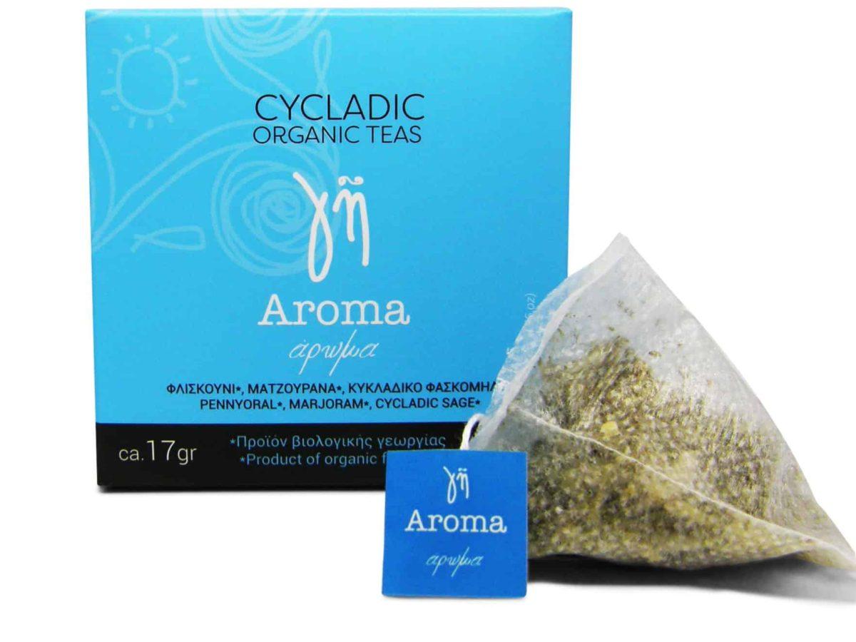 Cycladic Organic Teas Aroma
