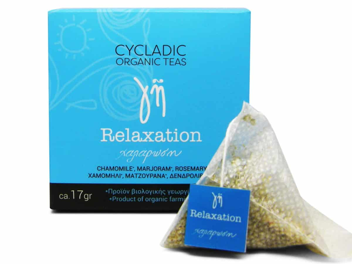 Cycladic Organic Teas Relaxation