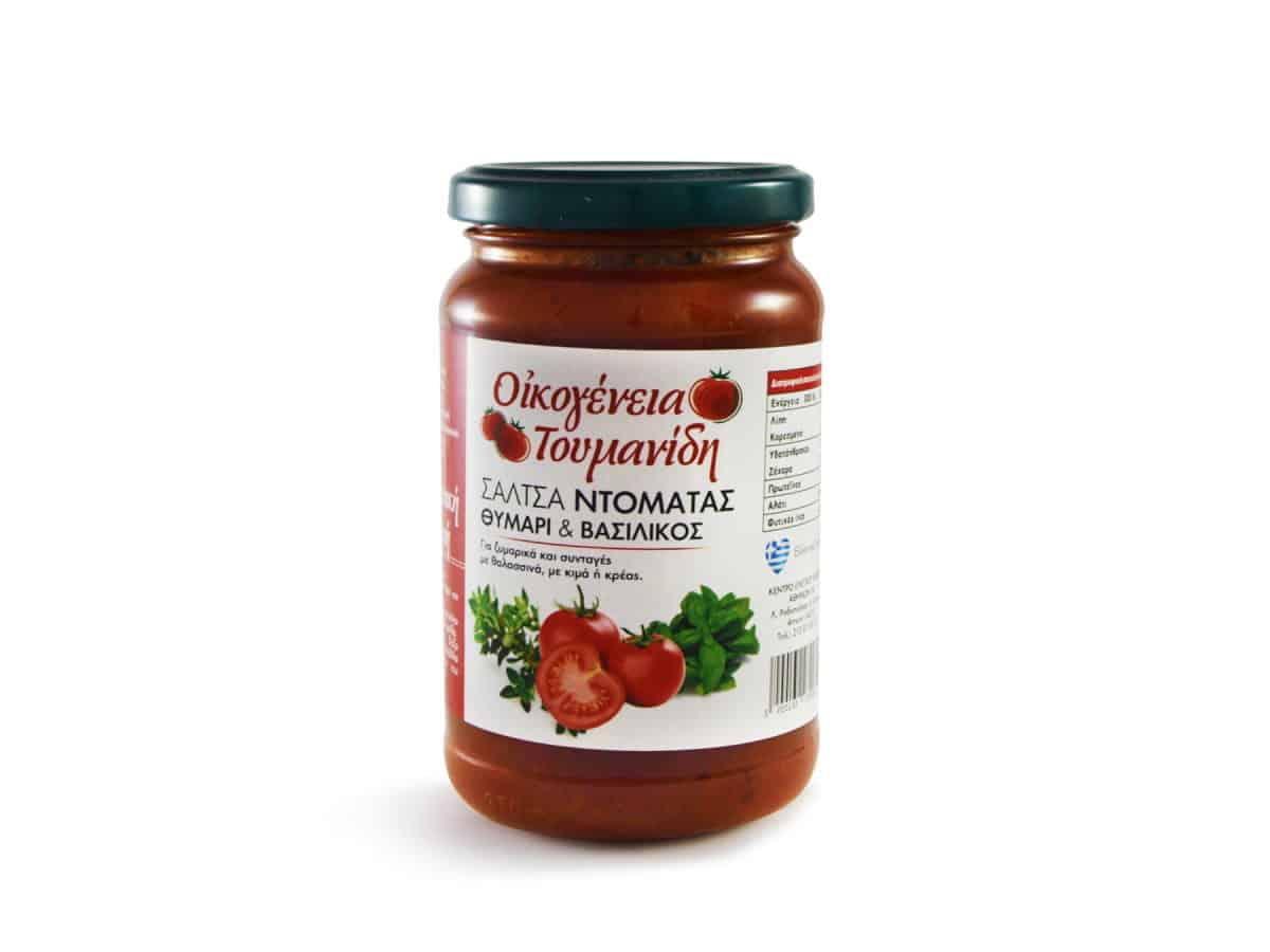 Tomato sauce Thyme & Basil